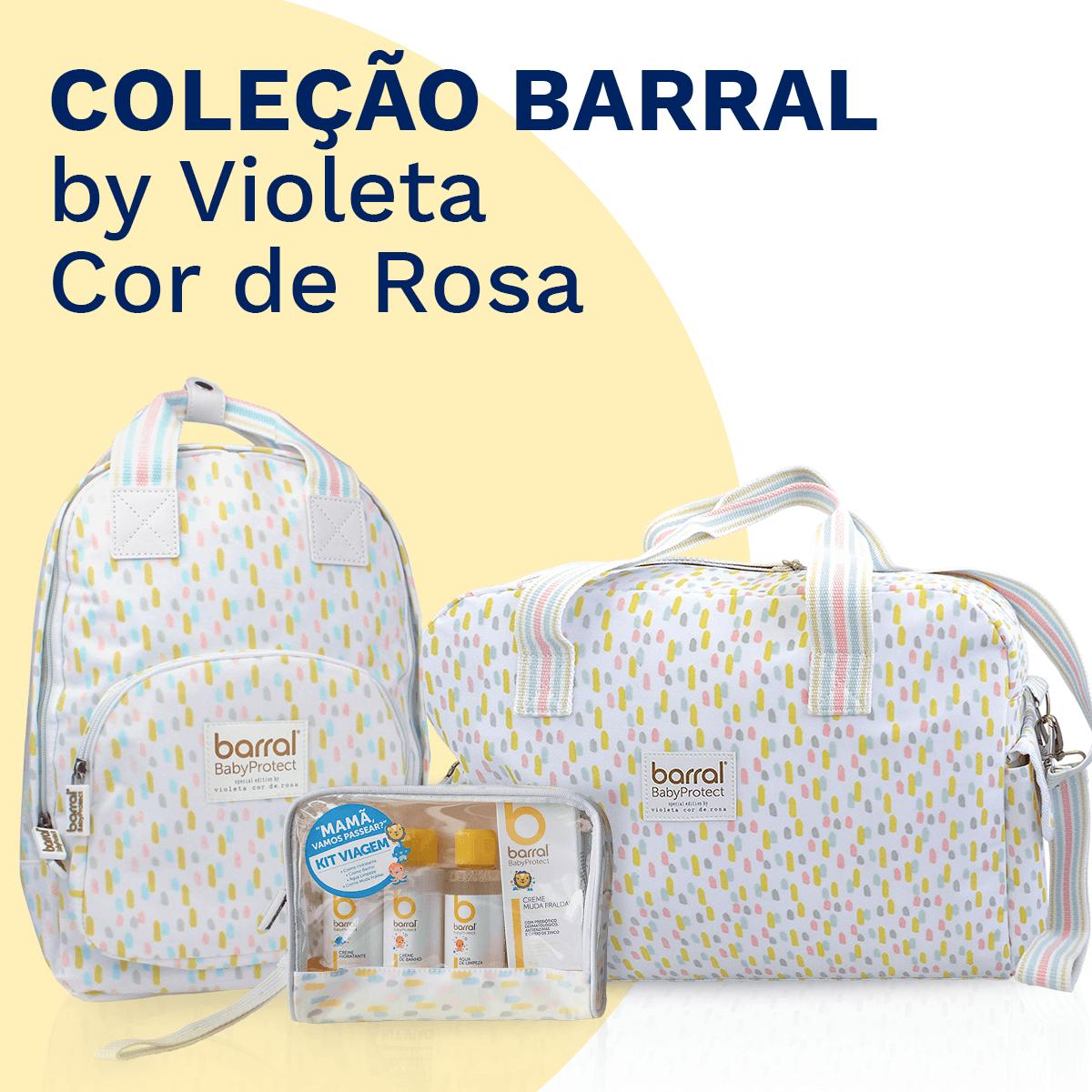 Coleção Barral by Violeta Cor de Rosa