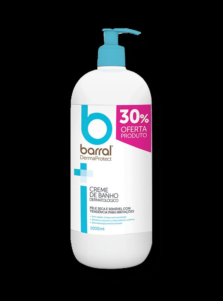 Barral DermaProtect - Creme de Banho - 1000 ml